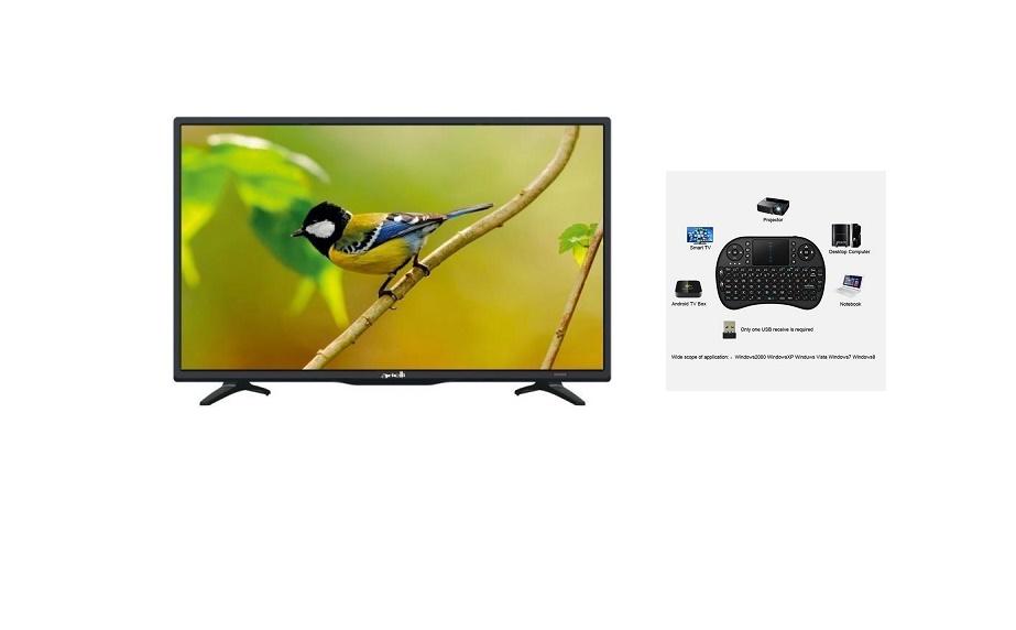 TV ARIELLI LED32DN6T2 32'' LED SMART HD READY WIFI+MINI ΠΛΗΚΤΡΟΛΟΓΙΟ ΑΣΥΡΜΑΤΟ