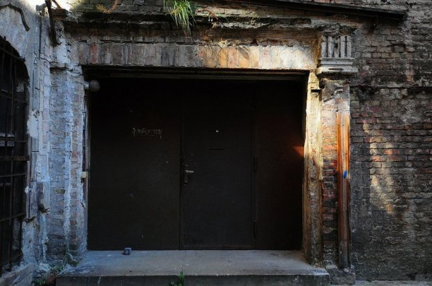 Main Entrance (?) of the Abandoned Cabaret