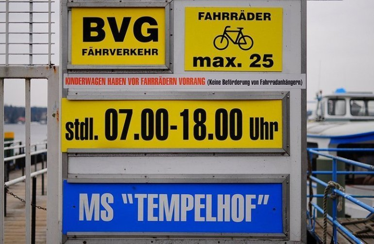 MS Tempelhof Sign