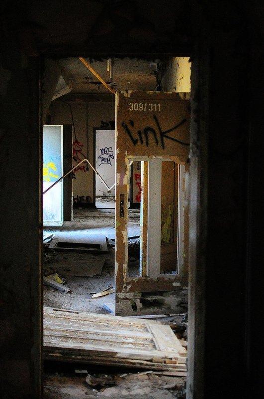 broken doors