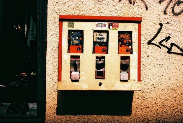 kaugummi automat berlin