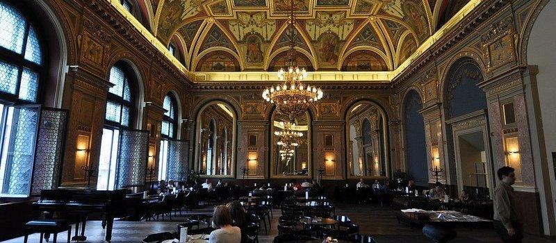 Alexandra Bookcafe Budapest Cafe Parisi Europes Most