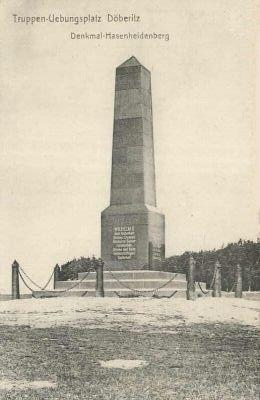 1915 obelisk doeberitzer heide berlin