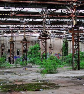 abandoned industrail factory berlin koepenick