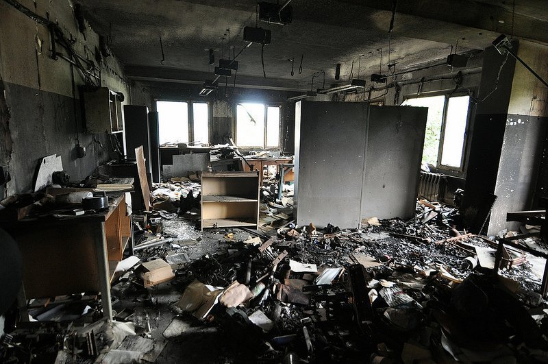 burnt photo lab room berlin