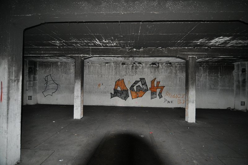innen ansicht munitions bunker oranienburg
