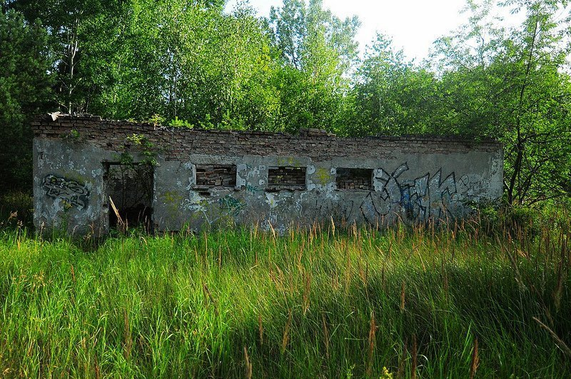 verlassenes nva gebaeude oranienburg