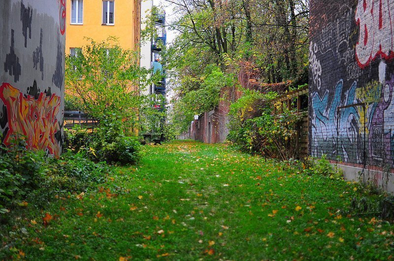 judengang innen ansicht juedischerfriedhof schoenhauser allee