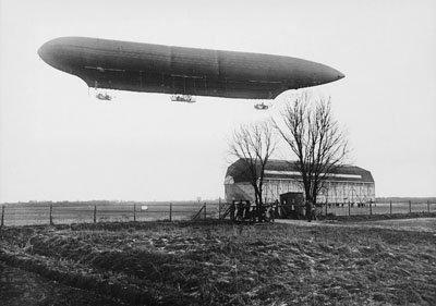 Luftschiffhalle Berlin-Biesdorf in 1911