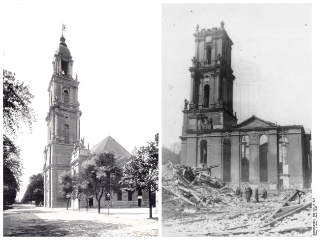 potsdam garnisonskirche before and after world war 2