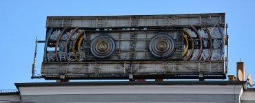 derelict sign stern radio berlin prenzlauer berg friedrichshain