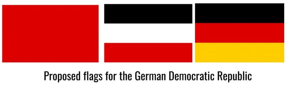Finding the last emblems of the German Democratic Republic