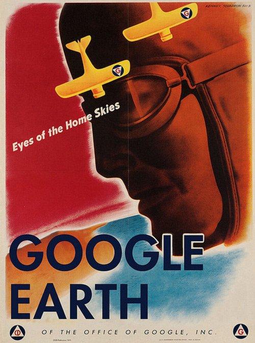 google earth by aaron wood