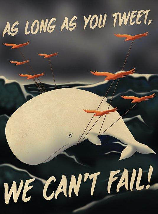 whale tweet by aaron wood