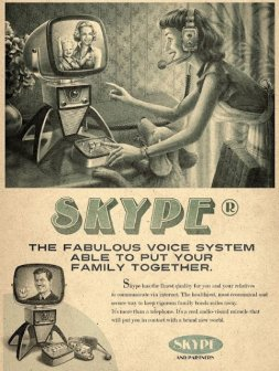skype vintage by moma propaganda
