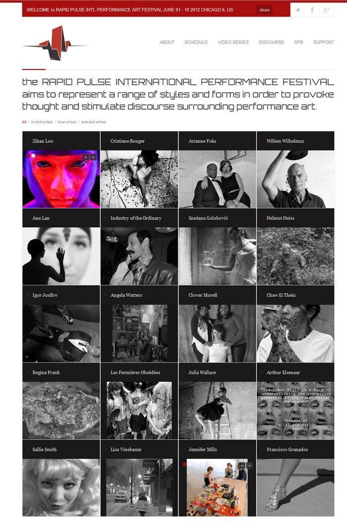 RAPID PULSE festival website