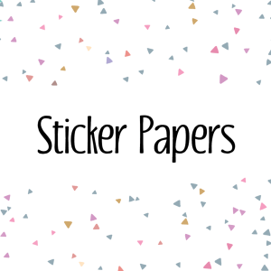 Sticker Papers