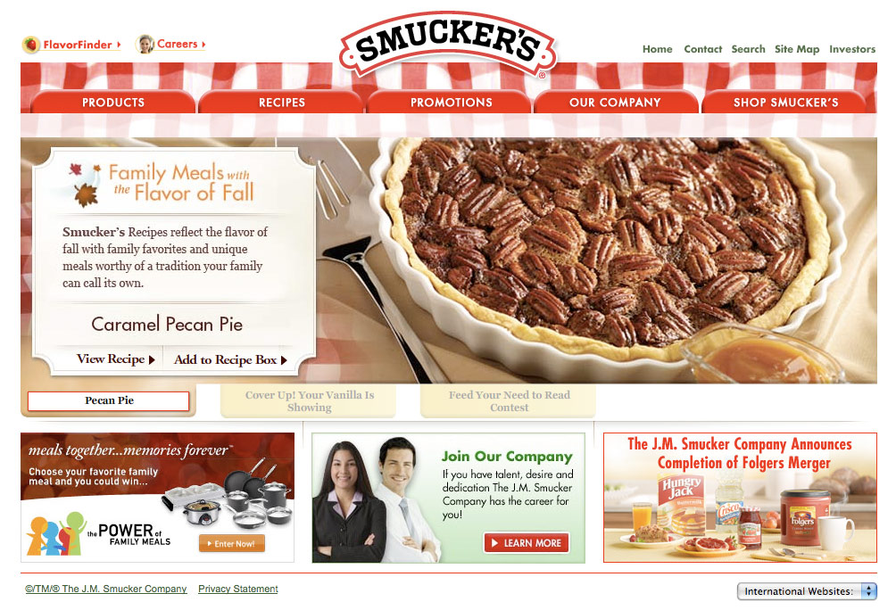 smuckers-home-page-redesign