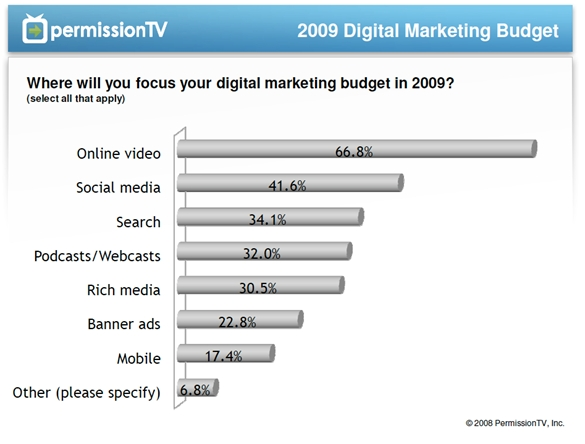 permission-tv-ways-where-focus-online-marketing-budget-this-year-january-2009