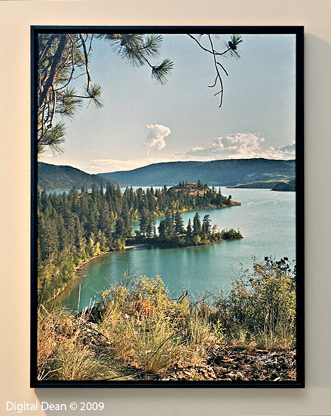 Kalamalka Bays | Framed Canvas