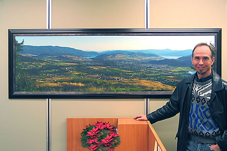 City Hall – 84″ x 22″ Mounted & Framed Panorama