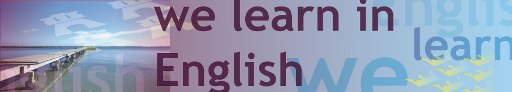 6 we learn in english