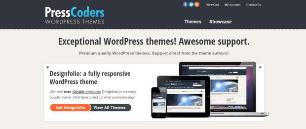 PRESSCODERS WORDPRESS THEMES REJI STEPHENSON