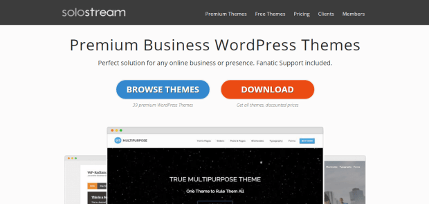 SOLOSTREAM WORDPRESS THEMES REJI STEPHENSON