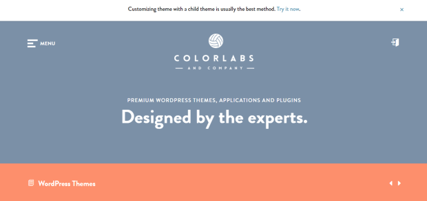COLORLABS AND COMPANY WORDPRESS THEMES REJI STEPHENSON