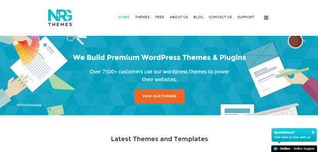 NRG THEMES WORDPRESS THEME SHOPS REJI STEPHENSON