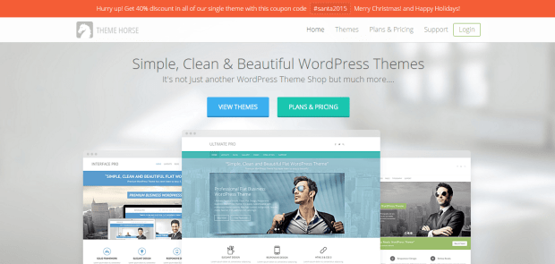 THEME HORSE WORDPRESS THEME SHOP REJI STEPHENSON