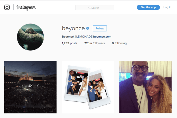Reji Stephenson Beyonce