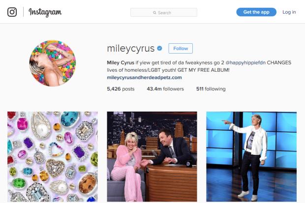Reji Stephenson Miley Cyrus