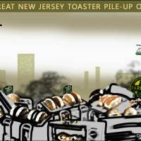 The Great New Jersey Toaster Pile-up