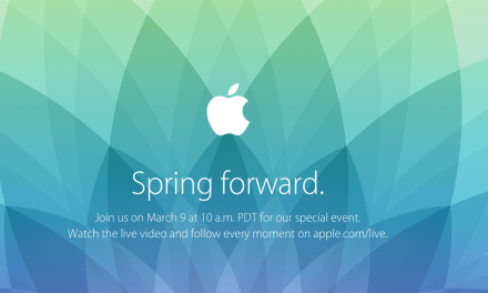 "Apple's ""Spring Forward"" Watch Event Set for March 9th"