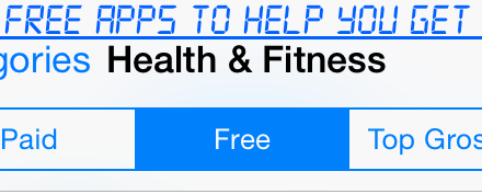 5 Free Apps to Help you Get Fit