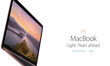 Apple's 2016 Macbook Rose Gold Update