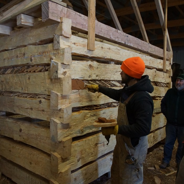 LEARN Log Cabin Workshop