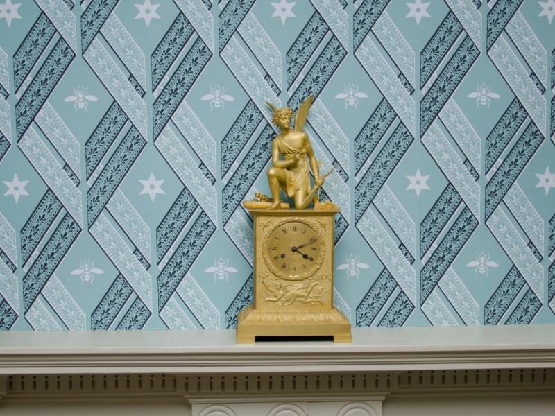 Furnishing a Bedchamber: Wallpaper & Textiles