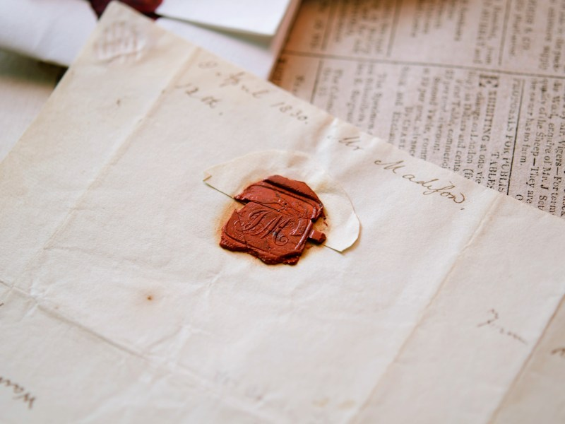 Lost and Found: James Madison's Seal