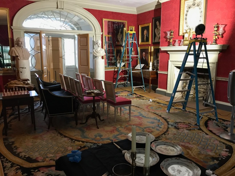 View of the Drawing Room at Montpelier during 2018 January Closure.