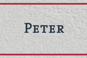 The Naming Project: Peter