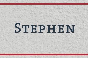 The Naming Project: Stephen