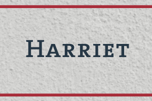 The Naming Project: Harriet