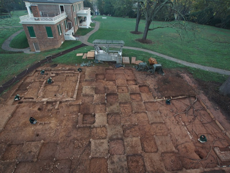 The South Yard: Archaeology