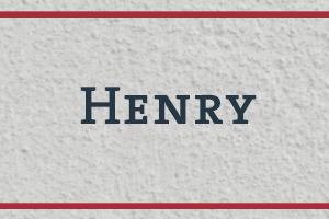 The Naming Project: Henry
