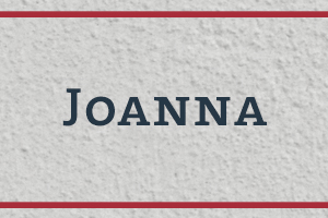 The Naming Project: Joanna