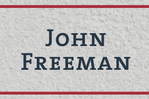 The Naming Project: John Freeman