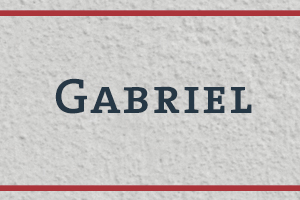 The Naming Project: Gabriel