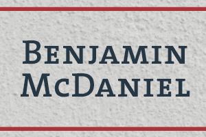 BenjaminMcDaniel_300x200
